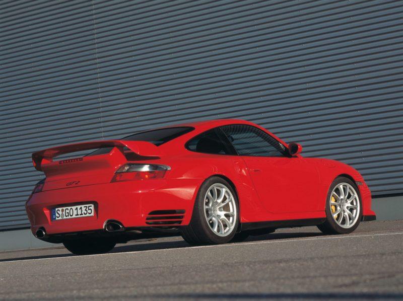 The type 996, Porsche 911 GT2