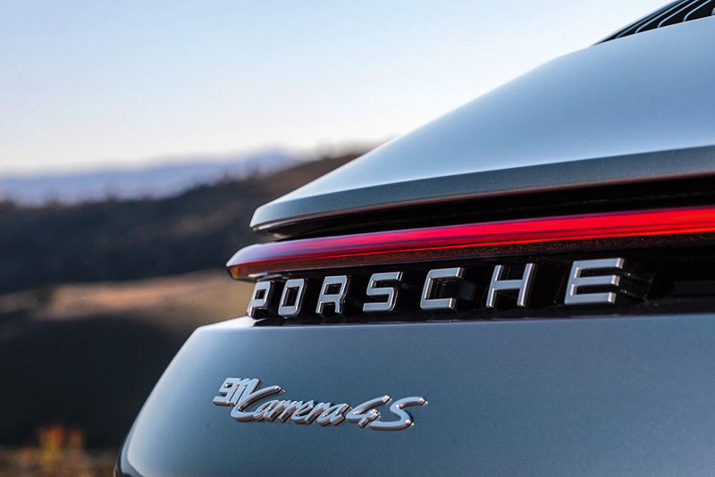 The new Porsche 911 Carrera 4S