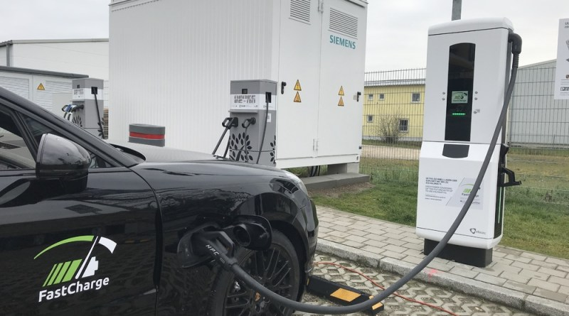 Fast Charge Porsche Prototype