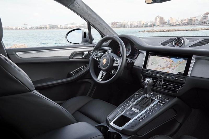 Interior Porsche Macan S