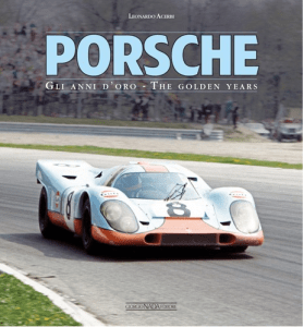 PORSCHE Gli anni d'oro_The golden years