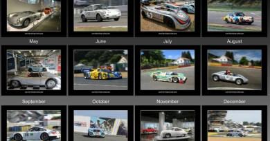 Love for Porsche - Liebe zu Ihm Porsche and Motorsport Calendar 2019