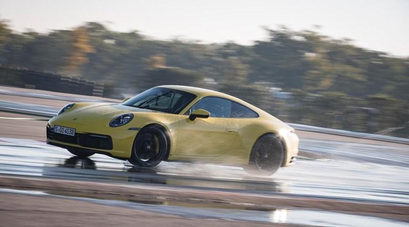 Porsche 911 Carrera 4S with Wet Mode