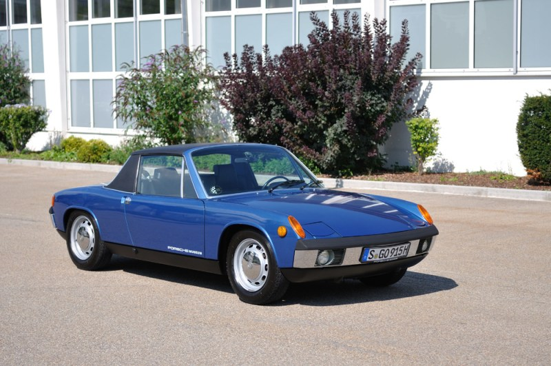 This year, the Porsche 914 celebrates its 50th anniversary