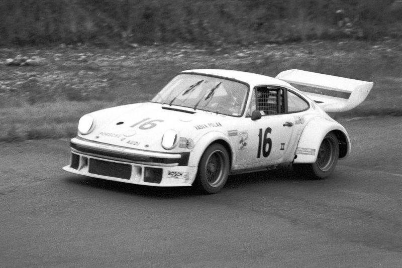 George Follmer in the Vasek Polak Porsche 934