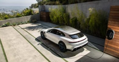 The Porsche Mission E Cross Turismo electric study now forms part of the developer platform