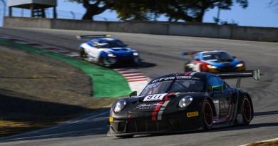 Porsche 911 GT3 R (911), Park Place Motorsports- Romain Dumas, Sven Müller, Mathieu Jaminet Corkscrew