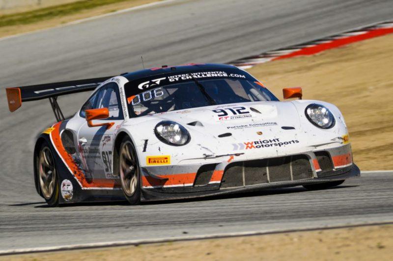 Porsche 911 GT3 R (912), Wright Motorsports- Dirk Werner, Matt Campbell, Dennis Olsen