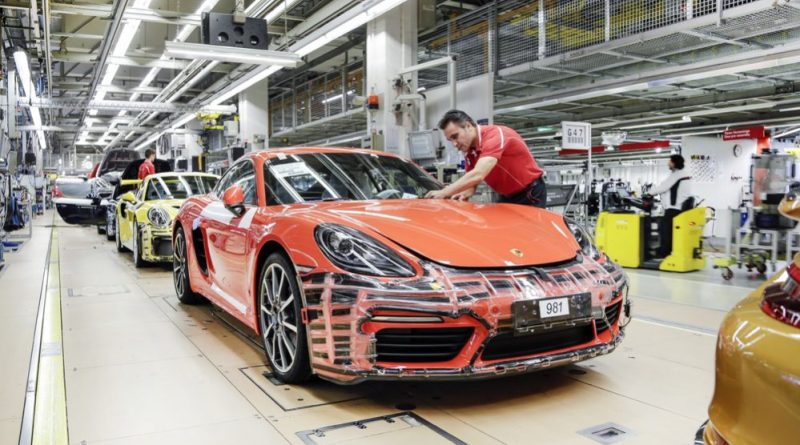 Porsche employees receive a special bonus of up to €9,700 for the 2018 financial year