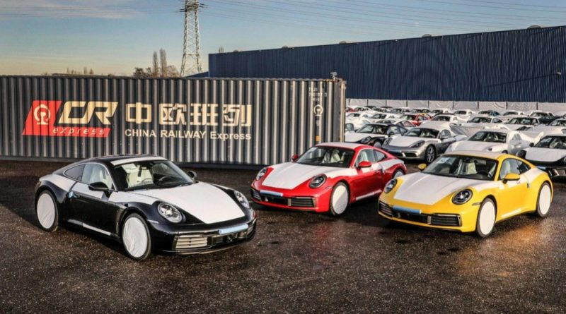 Porsche exports via the New Silk Road some of its sports cars to South China