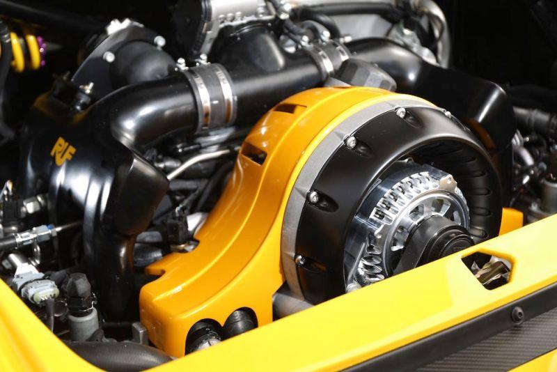 RUF CTR Anniversary Engine
