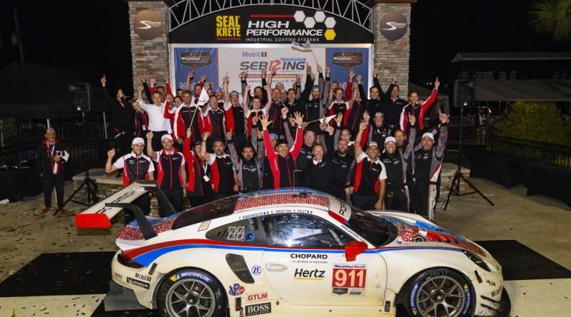 Sebring 12H - Porsche 911 RSR (911), Porsche GT Team