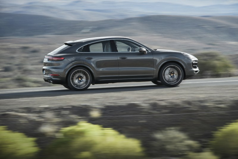 The new Porsche Cayenne Turbo Coupé