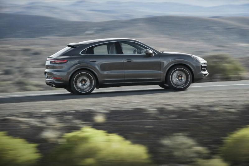 The new Porsche Cayenne Turbo Coupé