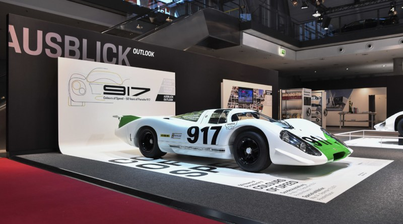 The very first 917 back in its original condition from 1969