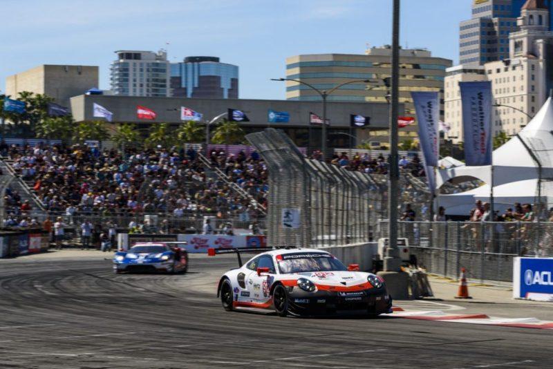Porsche GT Team- Earl Bamber, Laurens Vanthoor IMSA Long Beach