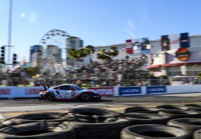 Pole streak continues: Porsche locks out first grid row at Long Beach