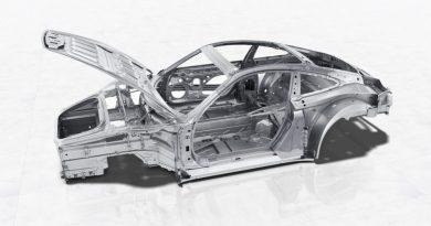 Innovations in body design: the multi-material mix of the new Porsche 911