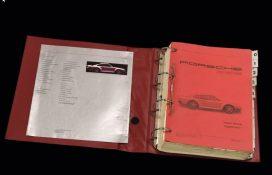 Porsche 959 Workshop Manual and Sales Brochure