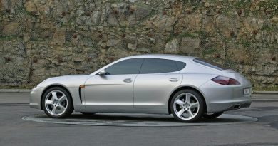 The concept Mirage sets the direction for the first Panamera