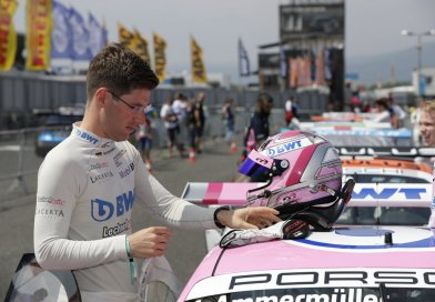 Michael Ammermüller scores lights-to-flag victory in 4rd race of the Porsche Carrera Cup Deutschland