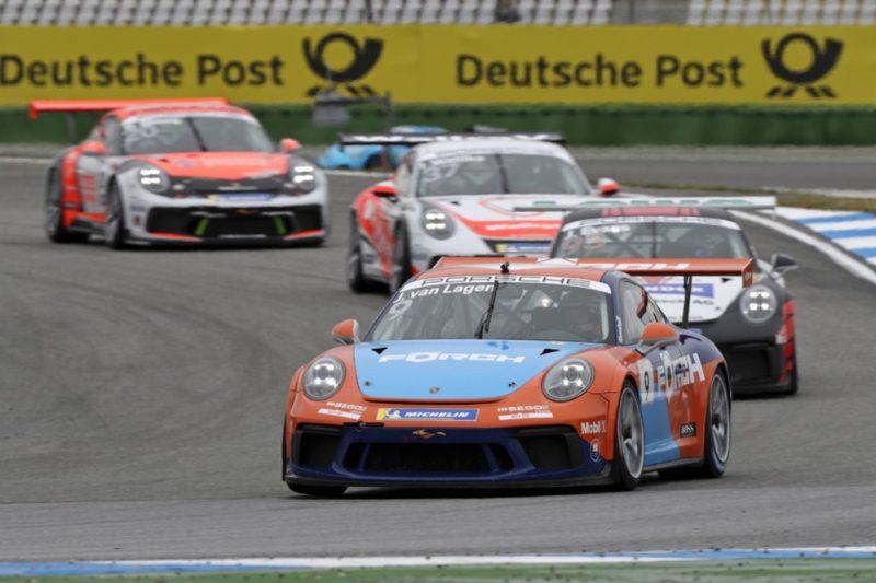 Porsche 911 GT3 Cup, Jaap van Lagen (NL), Porsche Carrera Cup Deutschland, Hockenheimring 2019