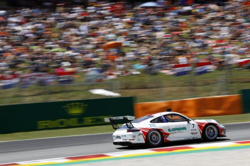 Porsche 911 GT3 Cup, Jaxon Evans (NZ), Porsche Mobil 1 Supercup, Barcelona 2019