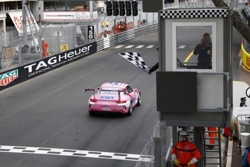 Porsche 911 GT3 Cup, Michael Ammermüller (D), Porsche Mobil 1 Supercup, Monaco 2019 Finish