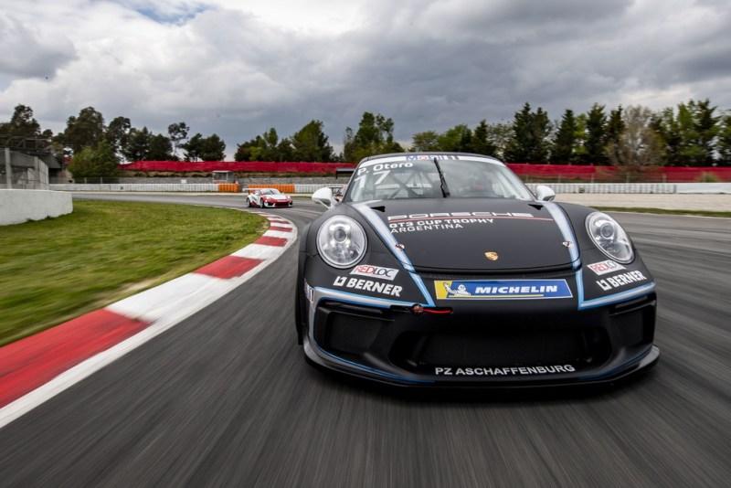 Porsche 911 GT3 Cup, Pablo Otero (RA), Porsche Mobil 1 Supercup, Barcelona 2019