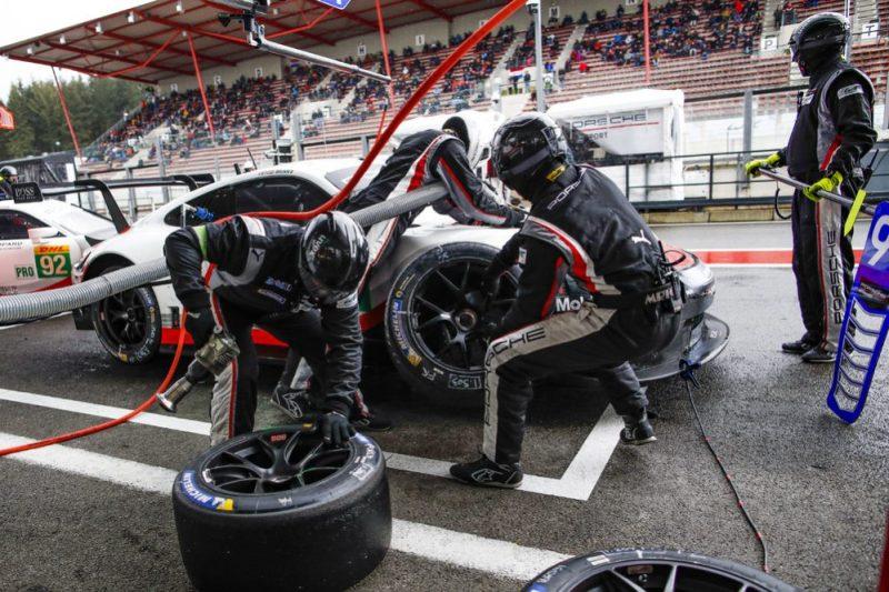 Porsche 911 RSR, Porsche GT Team (91), Gianmaria Bruni (I), Richard Lietz (A), Spa-Francorchamps 2019
