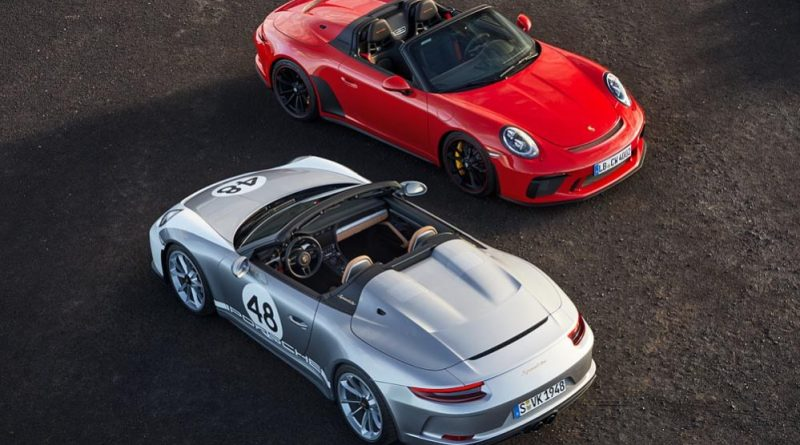 Porsche 911 Speedster and 911 Speedster, Heritage Design Package