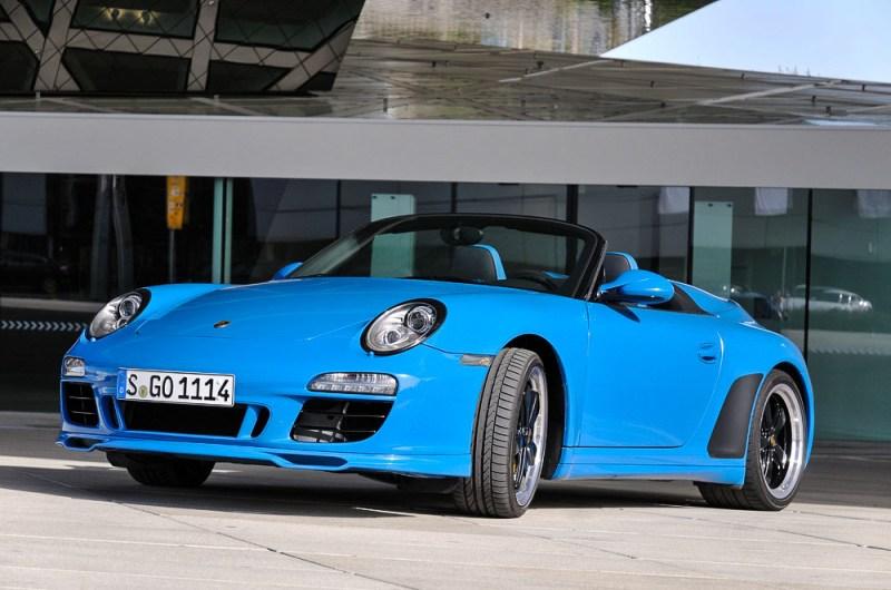 Porsche Typ 911 Speedster, model year 2011