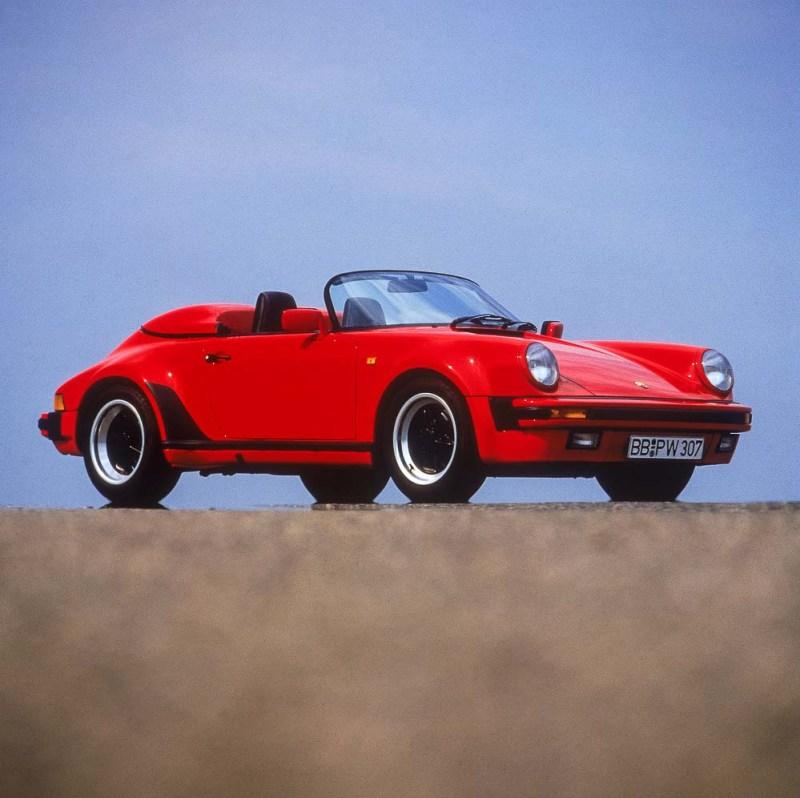 Porsche Type 911 Carrera 3,2 Speedster (Turbo look), model year 1989