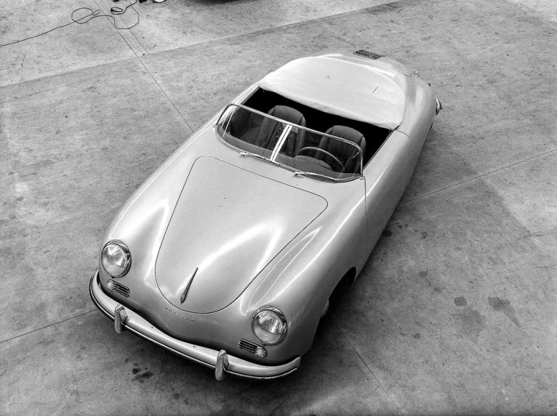 The very first Porsche 356 Speedster, 1954