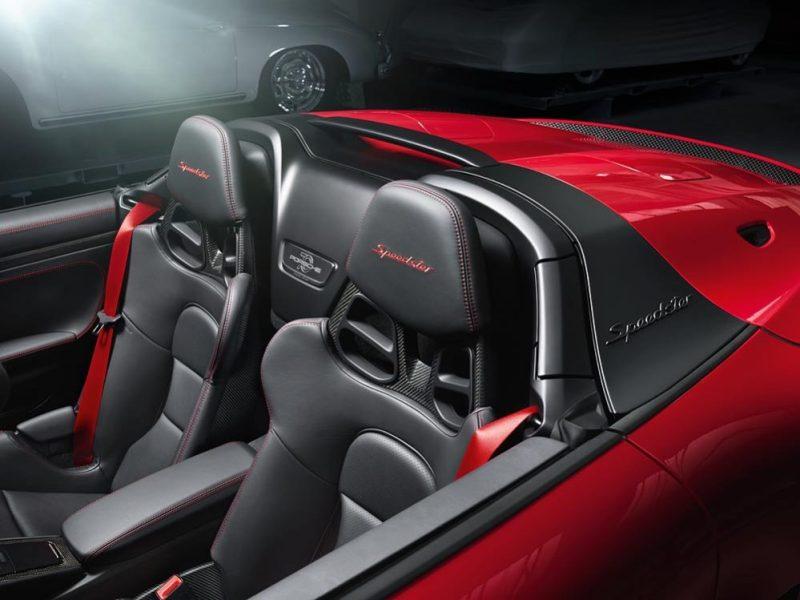 Interior Porsche 911 Speedster Type 992
