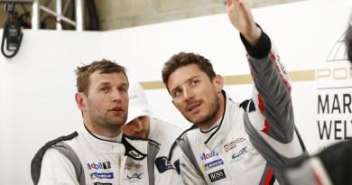 Porsche works drivers Michael Christensen and Kévin Estre are world champs