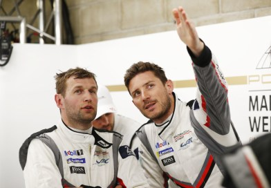 Porsche works drivers Michael Christensen and Kévin Estre are world champs