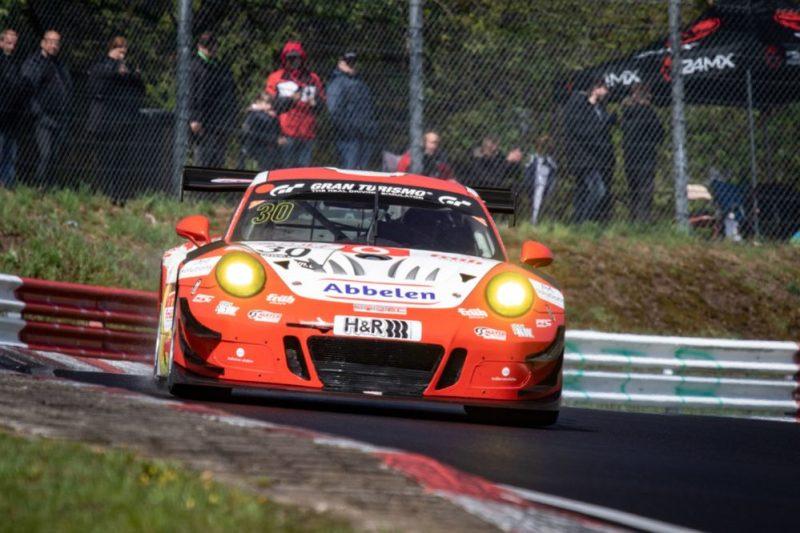 Porsche 911 GT3 R, Frikadelli Racing Team No 30, Klaus Abbelen (D), Alexander Müller (D), Robert Renauer (D), Thomas Preining (A)