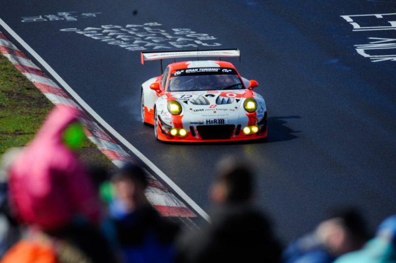 Porsche 911 GT3 R, Manthey-Racing #12, Otto Klohs (D), Lars Kern (D), Dennis Olsen (N), Matteo Cairoli (I)
