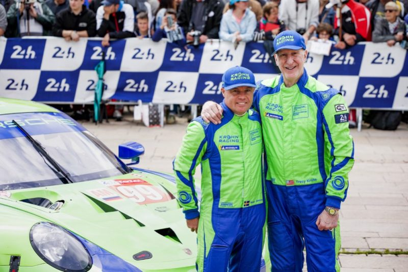 Porsche 911 RSR, Dempsey Proton Racing (99), Niclas Jonsson (S), Tracy Krohn (USA) (l-r)