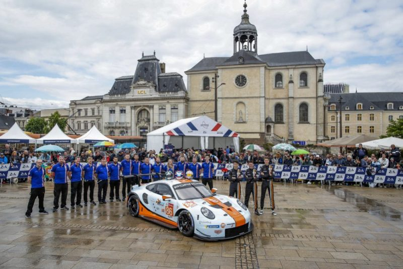 Porsche 911 RSR, Gulf Racing (86), Thomas Preining (A), Michael Wainwright (GB), Ben Barker (GB)