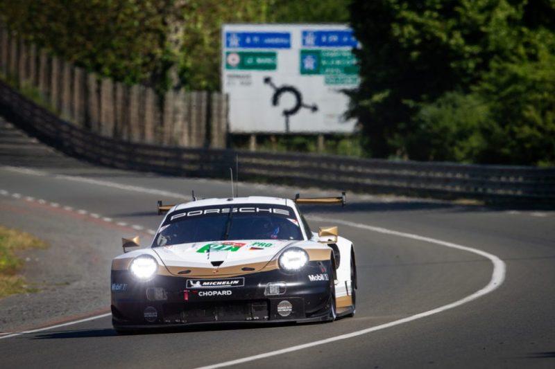 Porsche 911 RSR, Porsche GT Team (91), Gianmaria Bruni (I), Richard Lietz (A), Frédéric Makowiecki (F)