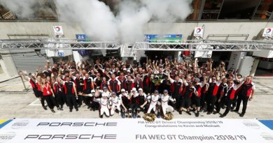 Porsche FIA WEC GT World Champion 2019