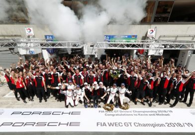 Quadruple triumph in world championship: Porsche wins all GT titles