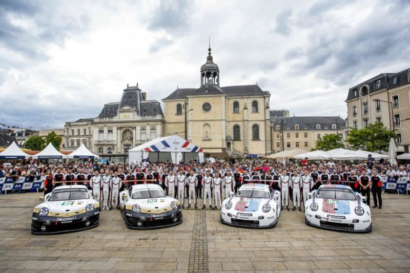The 4 Porsche GT Teams for Le Mans 24Hours 2019