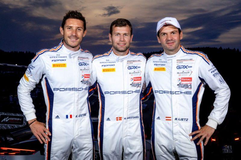 Kevin Estre (F), Michael Christensen (DK), Richard Lietz (A), GPX Racing