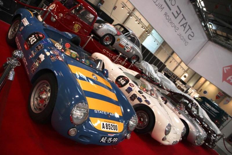 Porsche 356 pre A, Porsche 550 Spyders and the Porsche Renntransporter of the State-of-Art Collection
