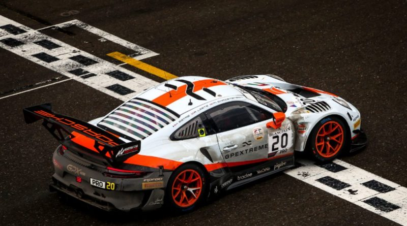 Porsche 911 GT3 R wins the 2019 Spa 24H GPX Racing (20), Kevin Estre (F), Michael Christensen (DK), Richard Lietz (A)
