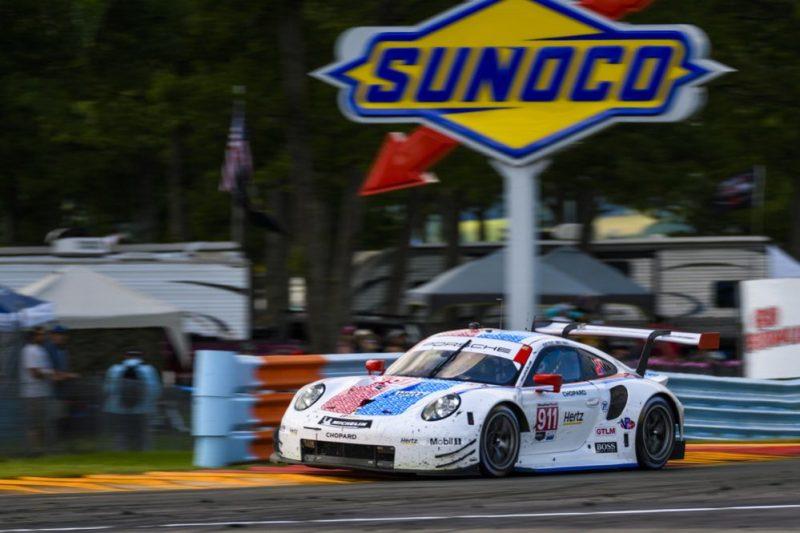 Porsche 911 RSR (911), Porsche GT Team- Patrick Pilet, Nick Tandy
