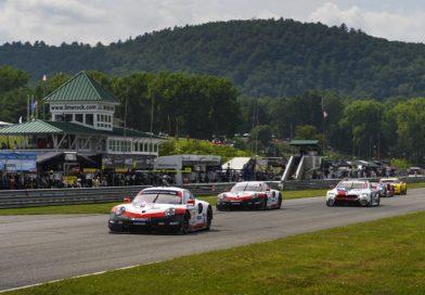 Victory for the Porsche 911 GT3 R, Porsche GT Team on the podium